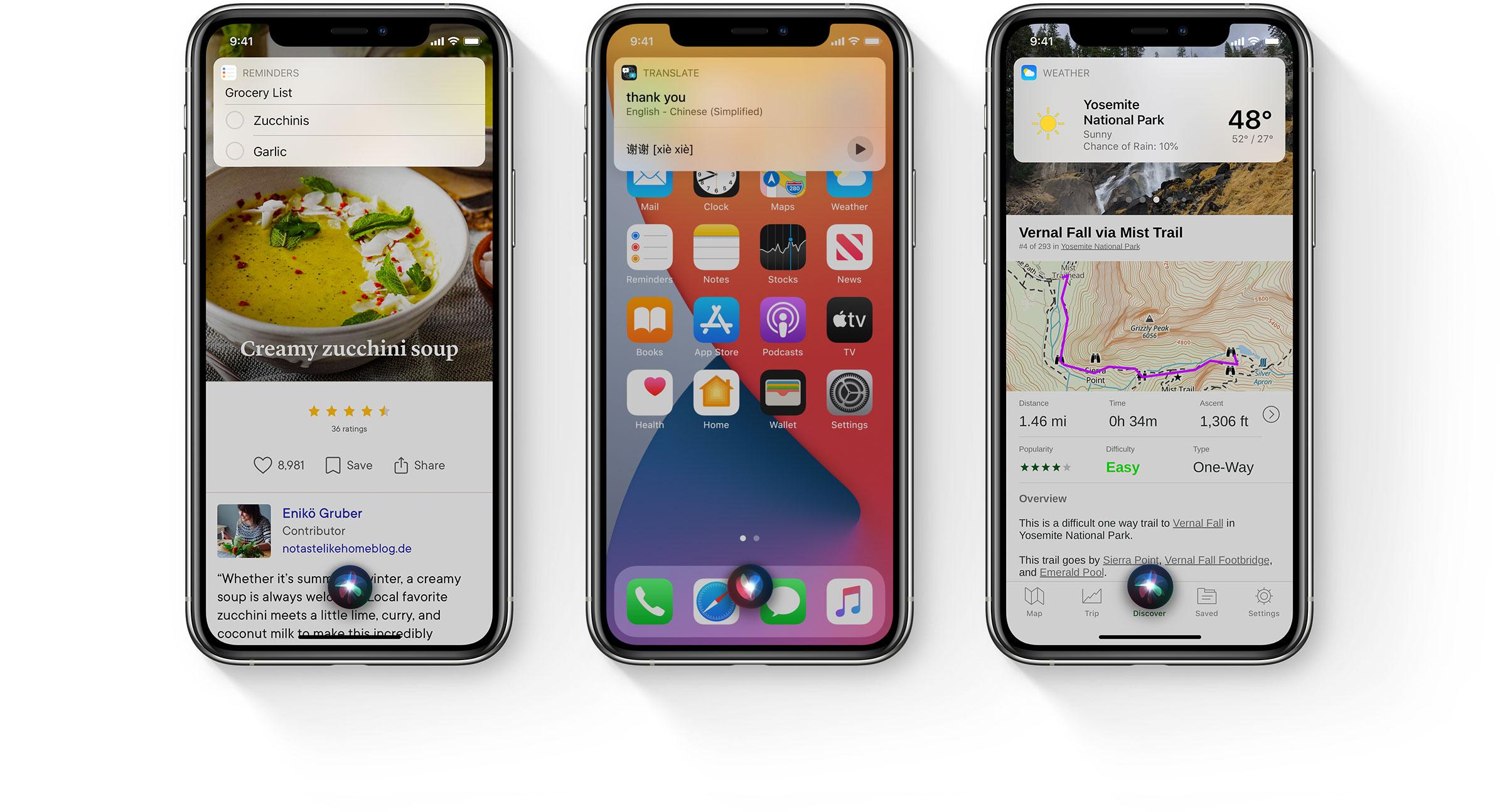 iOS 14 Yeni Siri